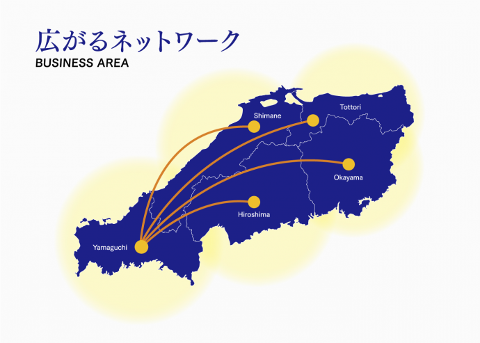 広がるネットワーク図